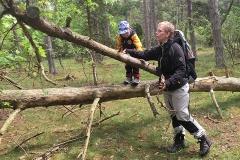 Elis och Anette i Trollskogen