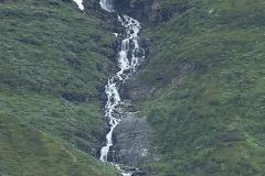 Vattenfall på Njutas (Nuoljas) sluttning