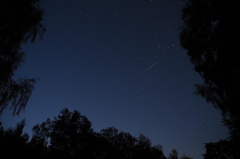 Kvällshimmel den 11 augusti.